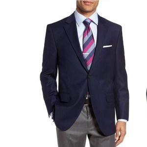 Peter Millar Navy Wool Suit Jacket 44R